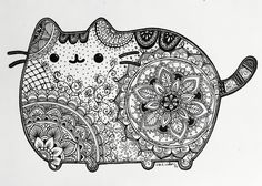 Pusheen Inspired art                                                       …