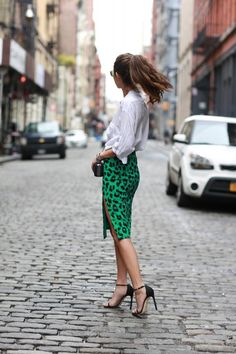 Spotted Green