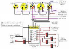 Typical Wiring Schematic Diagram Instrumentpanelwiring