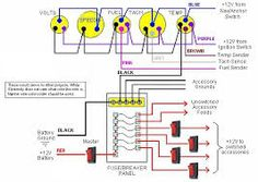 typical wiring schematic diagram instrumentpanelwiring jpg boat wiring diagram google search