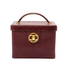 d49ad1616a35 Vintage Chanel Leather Vanity Box by LXR on. LXRandCo