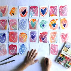 art 12 Process Art Ideas for Valentines Day o - art Toddler Crafts, Diy Crafts For Kids, Projects For Kids, Art For Kids, Craft Projects, Art Crafts, Process Art, Homemade Valentines, Valentine Crafts