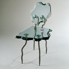 Sillas de vidrio contemporáneas (472 - Family) | Corning Museum of Glass