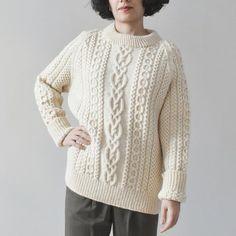 567febf12392 Καιτη ΦοβακηΠλεκτές τσάντες · vintage aran knit ir Vintage Denim