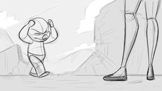 overshoot in animation Animation Storyboard, Animation Sketches, Cartoon Sketches, Learn Animation, Animation Reference, Art Reference, Cartoon Kunst, Cartoon Art, Animated Dragon