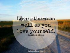 Distribute love.