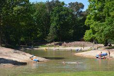 Kamperen, camperplekken, tent kamperen en groepsverblijven in natuurgebied De Maashorst Noord-Brabant. Kamperen in een bosrijke omgeving? Kijk snel.