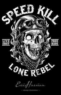 T-shirt design I did for T-shirt Factory, Romania Creative T Shirt Design, Pix Art, Harley Davidson Art, Motorcycle Logo, Skull Artwork, Skull Wallpaper, Oldschool, Flash Art, Designer
