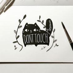 black cat   Tumblr (Thousand Skies)