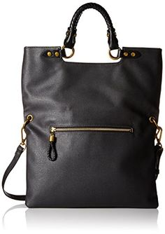 Elliott Lucca Iara Crossbody Foldover Tote Black Spring Botanica >>> Want to know more, click on the image.
