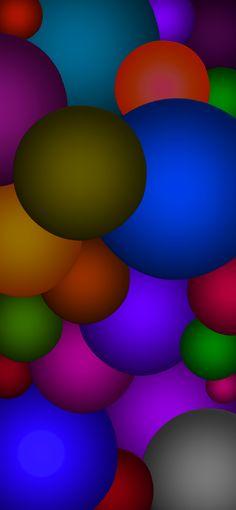 Galaxy Wallpaper, Wallpaper Backgrounds, Wallpapers, Bubbles Wallpaper, Science Art, Wall Colors, Color Patterns, Amazing Art, Circles