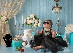 Holly Heine Photography, Orange County Baby Photographer, Cake Smash Artist, Holly Go Lightly Birthday Girl Pictures, Girl Birthday Themes, Baby Girl First Birthday, 2nd Birthday, Smash Cake Girl, Birthday Cake Smash, Katy Perry, Tiffany Birthday Party, Tiffany Cakes