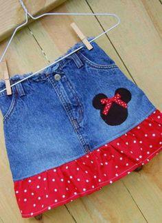 pantalón, convertido en falda