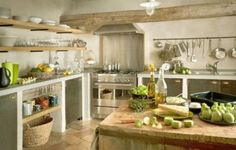 35 Charming Provence-Styled Kitchens You'll Never Want To Leave