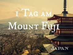 1 Tag am Mount Fuji – Japan