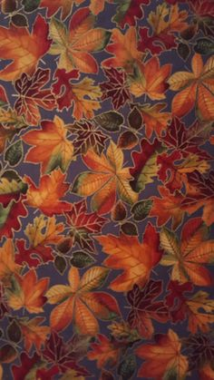 Cotton Fabric Fall Leaves on Gray Autumn Sparkle Chestnut Maple Oak Leaves Thanksgiving 1 Yard Excellent Fabric for Creative Genius Projects  Cotton Fabric Fall Leaves on Gray Autumn Sparkle Chestnut Maple Oak Leaves One Yard Excellent Fabric for Creative Genius Projects  FALL LEAVES on GRAY Autumn Sparkle Chestnut Maple Oak Leaves fabric cotton  One Yard 36 x 44 CONTINUOUS PIECE - Multiples will be shipped in one continuous piece  Your questions are welcome  Fat Quarter available in FALL…
