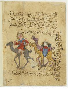 Les Maqâmât d' Aboû Moḥammad al-Qâsim ibn ʿAlî al-Ḥarîrî 17th Century Art, Bnf, Luxor Egypt, British Museum, Book Nerd, Islamic Art, Art Museum, Medieval, Artwork