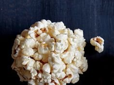 Guess what? This is a whole-grain dessert. To keep the ­stickiness at bay, wear latex gloves coated with cooking spray as you shape the popcorn balls. Watch Now: How to Make Old-Fashioned Popcorn BallsView Recipe: Old-Fashioned Popcorn Balls