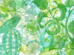 Fill your room with spots of chlorophyll! A spirited and delightful mix of raster plants with layer-upon layer effect. Custom Wallpaper, Of Wallpaper, Designer Wallpaper, Jelly Belly, Decoration, Art Decor, Decor Ideas, Australia Wallpaper, Gelli Plate Printing