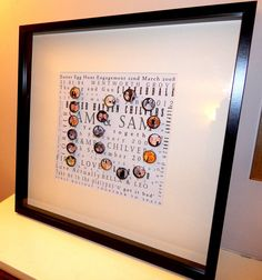 50 x 50 anniversary print, personalised, photos, memories, family