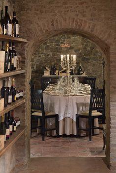 UNA Palazzo Mannaioni - Wine Cellar #Tuscany (Florence)