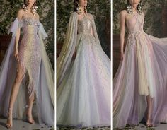(99+) Tumblr Bridesmaid Dresses, Prom Dresses, Formal Dresses, Wedding Dresses, Fashion Show Dresses, Georges Hobeika, Couture Collection, Alexander Mcqueen, Gowns