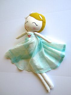 Limitied Edition Cloth Doll by Mend