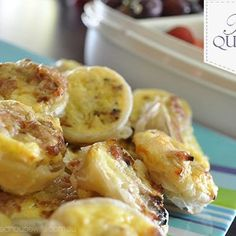 Cheese & Bacon Mini Quiches
