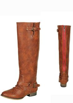 Tan Knee High Western Riding Style Boots, $44.99 (http://www.thetexascowgirl.com/tan-knee-high-western-riding-style-boots/)