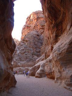 Al Siq, Petra, Jordan