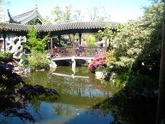 Lan Su Chinese Gardens Portland OR