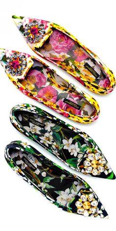 Dolce & Gabbana ss 2015  |  @  flats & sandals