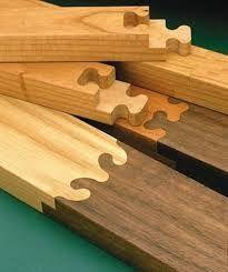 Resultado de imagem para complex wood joinery