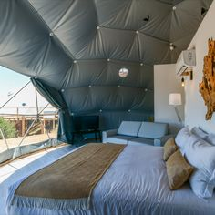 FDomes Glamping for Reserva Alecrim, Portugal Luxury Glamping, Luxury Tents, Geodesic Dome Kit, Pop Up Shops, Prefab Homes, Winter Garden, Portugal, Container, Blanket