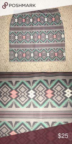 #MiniSkirt #Aztec #Print #Pastels #Beautiful L #MiniSkirt #Aztec #Print #Pastels EUC L Worn once. Skirts Mini