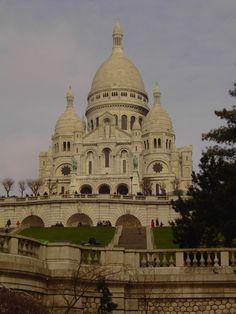 la basilique du sacre coeur, paris