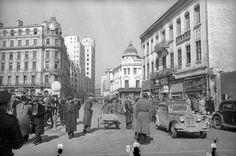 Bucuresti, Calea Victoriei, 1944 [foto: russiainphoto.ru]