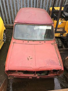 MINI CLUBMAN 1275 GT RED 1976 PROJECT BARN FIND 1380 TURBO METRO RACE TUNED LOOK In