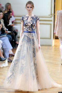 zuhair murad   Zuhair Murad Autumn/Winter 2013: Couture Show Highlights - MyDaily UK