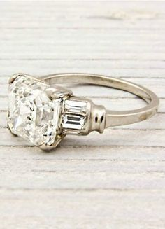 Antique Diamond Ring by Erstwhile Jewelry
