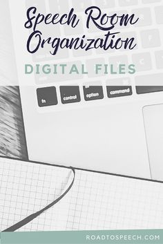 Five quick tips for SLPs to organize their digital TPT files! Makes speech therapy lesson planning a breeze!