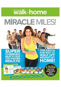 Walk at Home *Miracle Miles* BRAND NEW 5 dvd set by Leslie Sansone - leslie sansone Health And Beauty Tips, Health And Wellness, Health Fitness, Walking Exercise, Walking Workouts, Fitness Goals, Fitness Motivation, Leslie Sansone, Workout Dvds