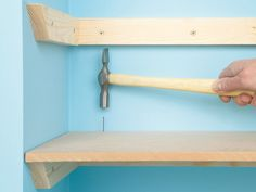 DIY network... all the different ways to do shelving.