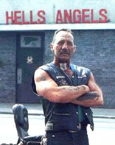 Sonny Barger:  I met Sonny years ago when I was prospecting for my club.  I quit smoking shortly after.  Was an honor...