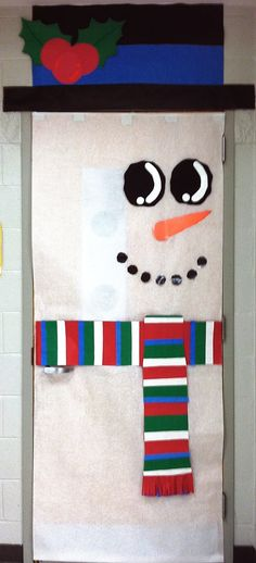 Classroom Winter Holiday Door