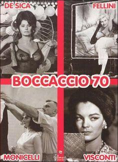 Boccaccio 70 (1962) Italia. Dirs: Vittorio de Sica, Federico Fellini, Mario Monicelli, Luchino Visconti. Comedia - DVD CINE 1154