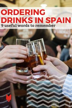 When you're out at a bar or restaurant in Spain, ordering food is one thing—but drinks are an entirely different beast. This guide is packed with all the tips you need for ordering a drink in Spain and sounding just like the local people while you do so. Spanish Cuisine, Spanish Words, Barcelona Travel, Order Food, Foodie Travel, Night Life, Beast, Spain, Restaurant
