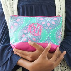 Custom Zipper Pouch Personalized Marlee Makeup Bag Preppy Pencil Pouch with Monogram Travel Jewelry & Cosmetic Case Bridesmaids Gift by KaileysMonogramShop on Etsy Monogram Shop, Monogram Gifts, Pencil Bags, Pencil Pouch, Personalized Gifts For Her, Handmade Gifts, Cosmetic Pouch, Makeup Pouch, Makeup Bags