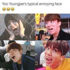 Bap funny Yoo Youngjae Kpop