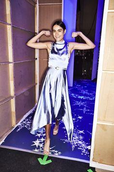 Sonny Vandevelde - Leo & Lin Resort 19 Fashion Show Sydney Backstage Sydney Fashion Week, Backstage, Leo, Fashion Show, Model, Dresses, Vestidos, Scale Model